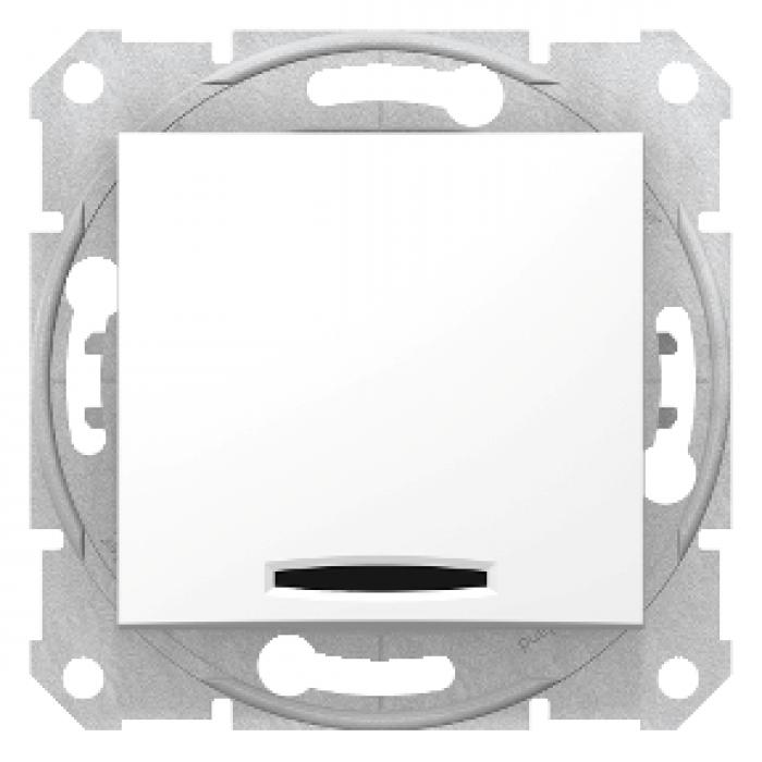 Intrerupator simplu cu led Sedna Schneider SDN1400121 - 1 modul