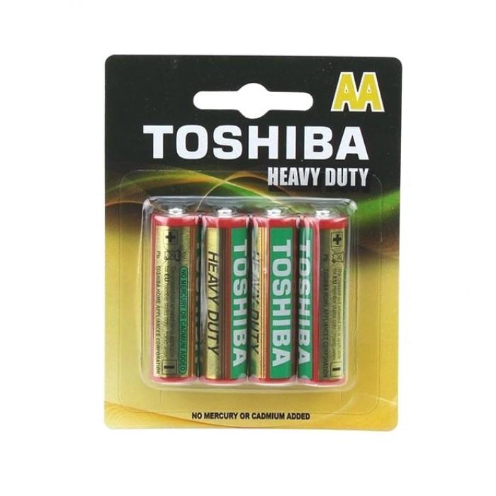 Baterie Toshiba R6 (tip AA), negru