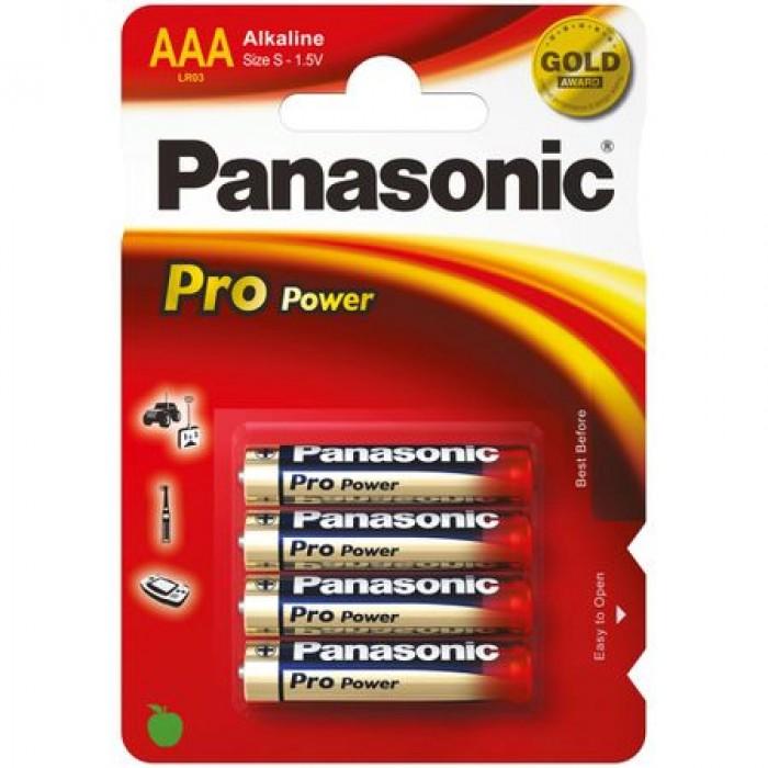 Baterie alcalina Panasonic Pro Power R3 (tip AAA)