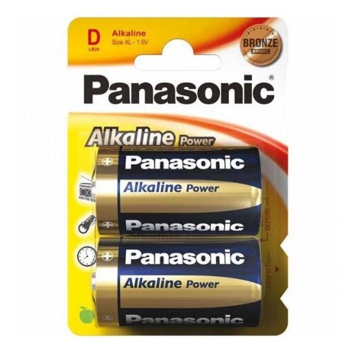 Baterie alcalina Panasonic R20