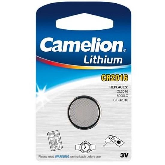 Baterii cu litiu Camelion CR2016