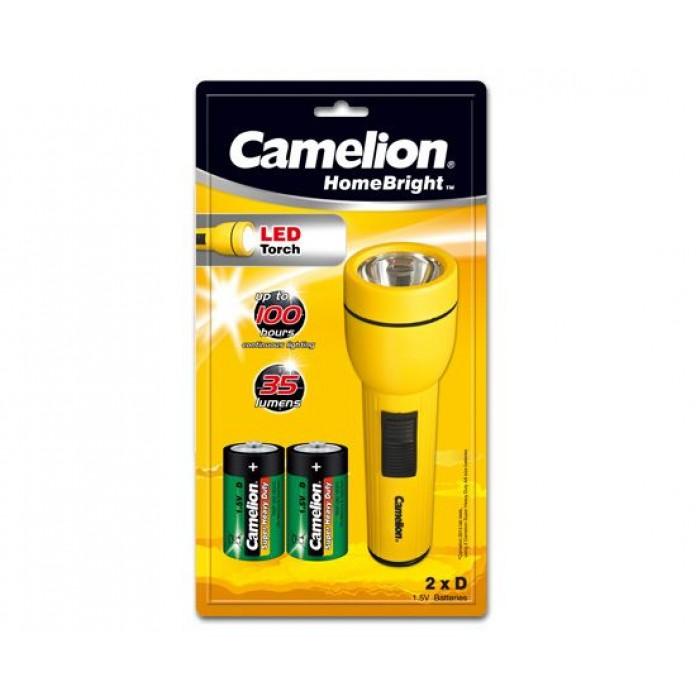 Lanterna LED Camelion (baterie 2xR20)