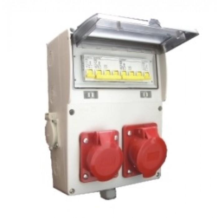 Tablou de santier echipat T1X32+M2X16, 6L IP66 -  MF0015-00093