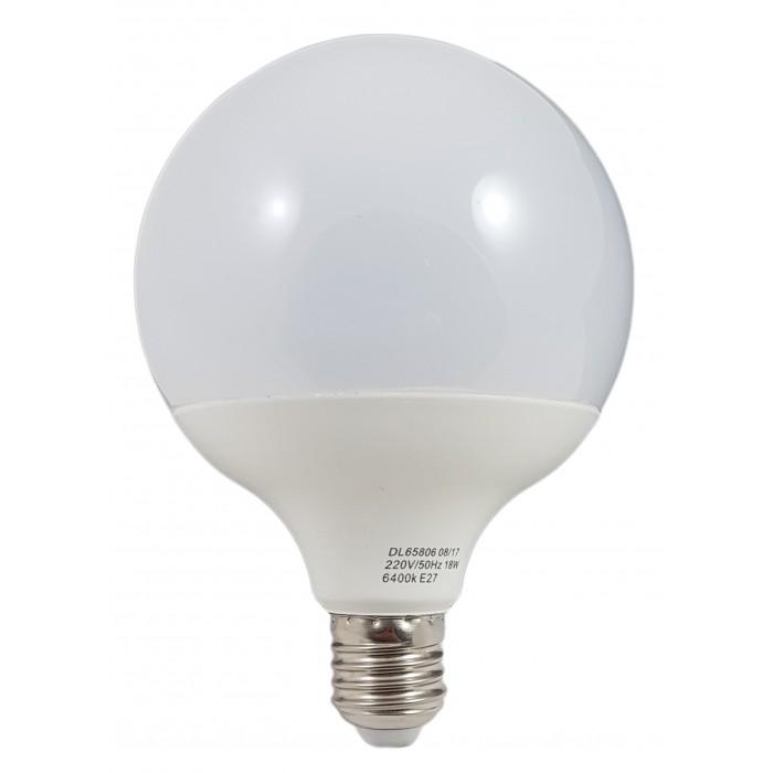 Bec Led E27, model G120, 18W=120W, 6400K, lumina rece