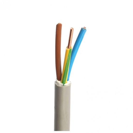 Cablu electric rigid CYYF 4x6mm (tambur)