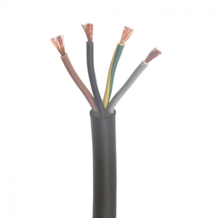 Cablu electric flexibil din cupru (cauciucat) MCCG 4x10mm