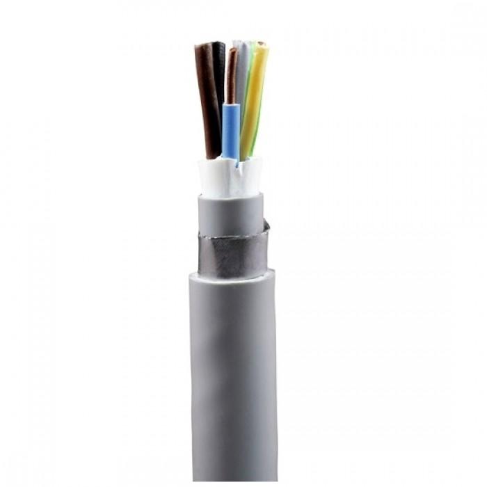 Cablu electric rigid armat cu izolatie pvc CYABY-F 4x1.5mm (tambur)