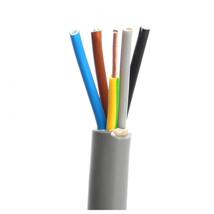 Cablu electric rigid CYYF 5x1.5mm (tambur)
