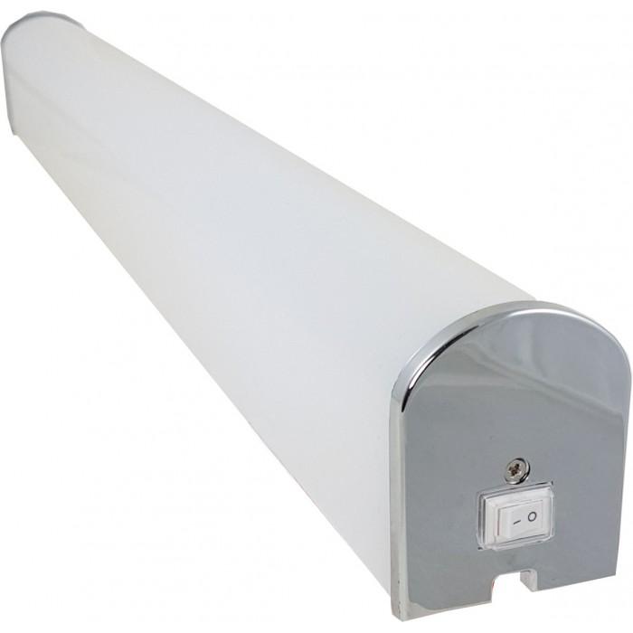 Corp LED baie cu intrerupator, 15w, 6400K, lumina rece, cu protectie IP44, 600mm