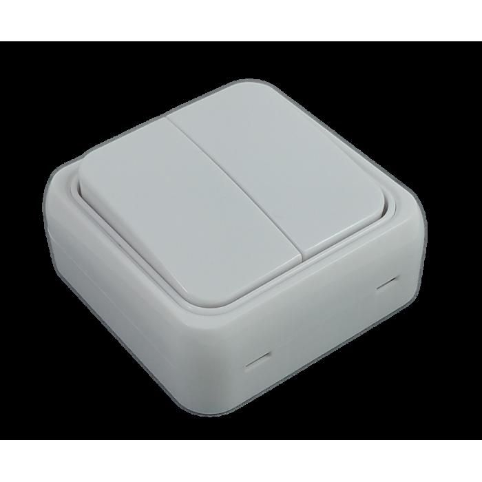 Comutator Mini Alb - montaj aparent