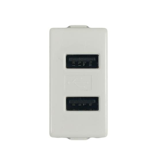 Priza USB NEO 1M/220V/1A/2A