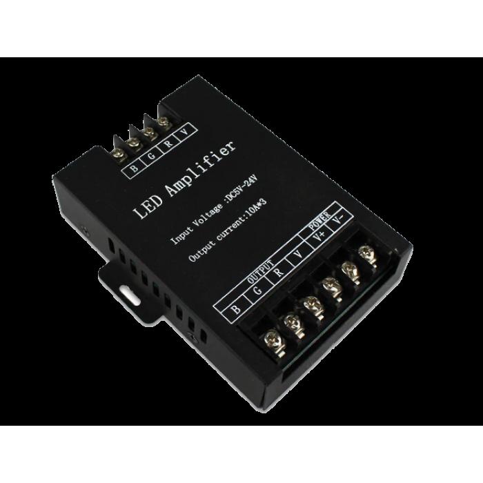 Amplificator banda LED RGB, 12V, 288W, 30A