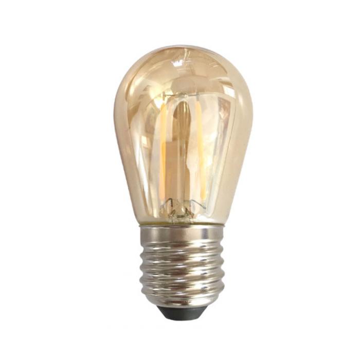 Bec LED Filament Amber E27/2W/200LM/2500K ST45
