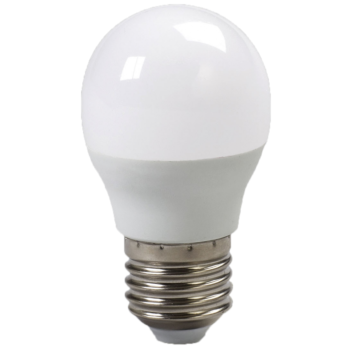 BEC LED SFERIC E27/3W/200V/2700K G45