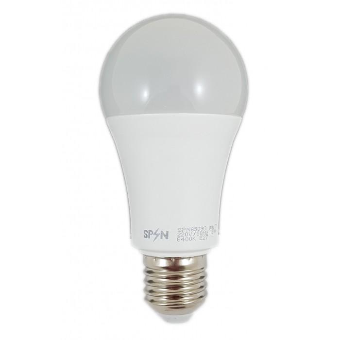 Bec Led E27, model glob A60, 15W=200W, 2700K, lumina calda, 1650Lm
