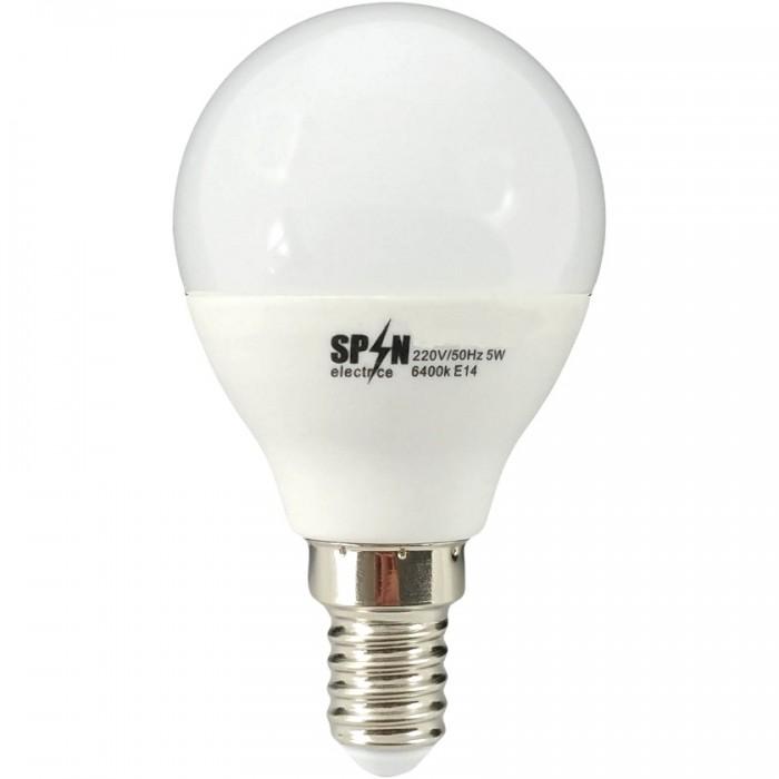 Bec Bl Led Sferic E14, model glob G45, 3W=25W, 6400K, lumina rece