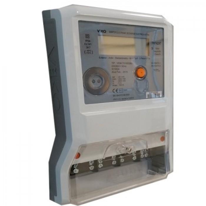 Contor Electronic Trifazic 380 VAC 100A VIKO
