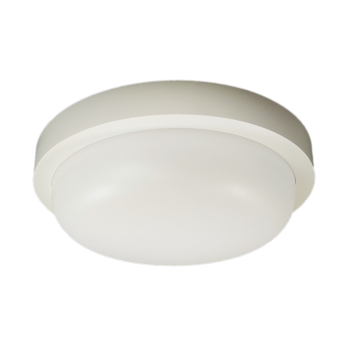 Aplica LED de exterior Rotunda  fi180, 12W=100W, 6000K, lumina rece, cu protectie IP65
