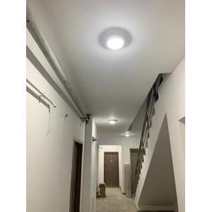 Aplica LED cu senzor de miscare 360°, Ø171, 15W=100W, 1200Lm, IP65