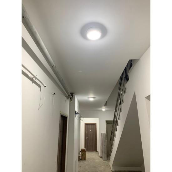 Aplica LED cu senzor de miscare 360°, fi171, 15W=100W, 1200Lm, IP65