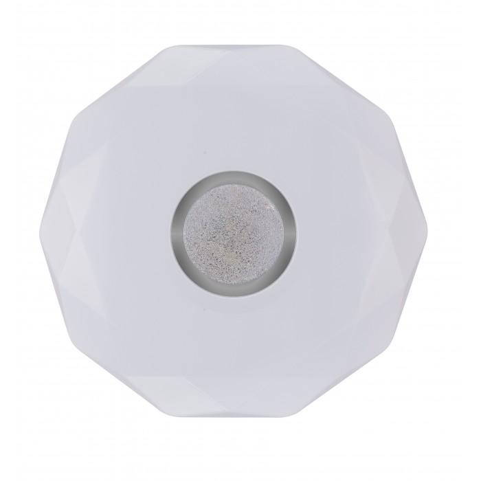 Plafoniera LED diamant cu inel decorativ, Ø400, 24W, 1680Lm, 6500k