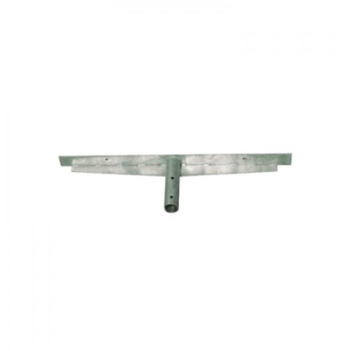 Brat Dublu 2x50cm L, pentru proiector pe stalp galvanizat