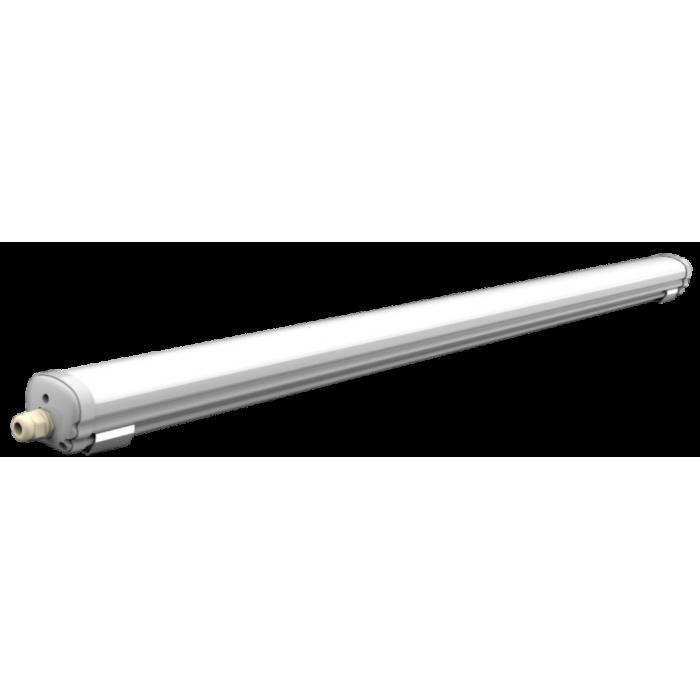 Corp LED IP65, 36W = 72W, 6500K, lumina rece, 1200mm