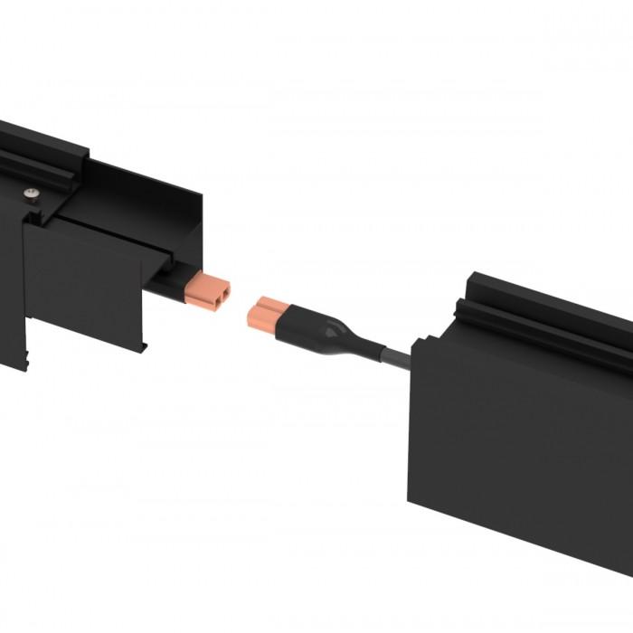 Mufa conectare corp LED liniar, 1m, 2x1.5mmp