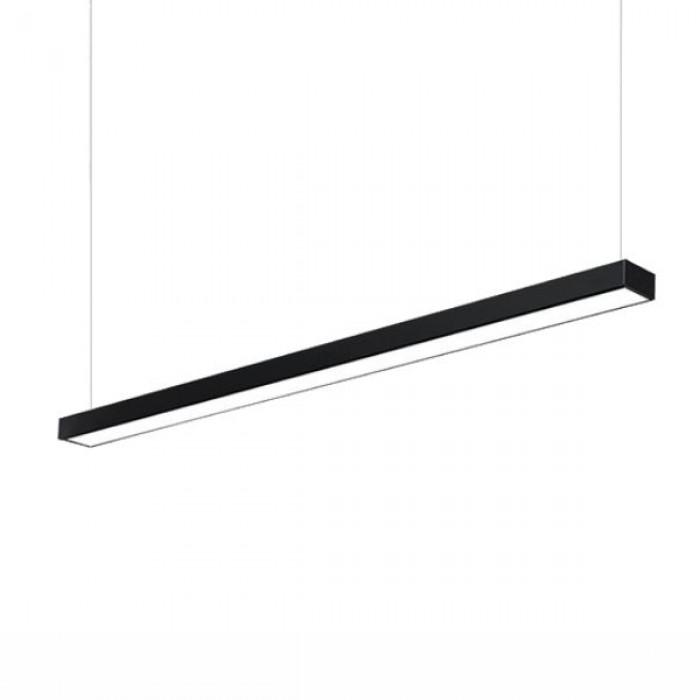 Corp LED liniar, 40W, 4000K, 120 cm, negru
