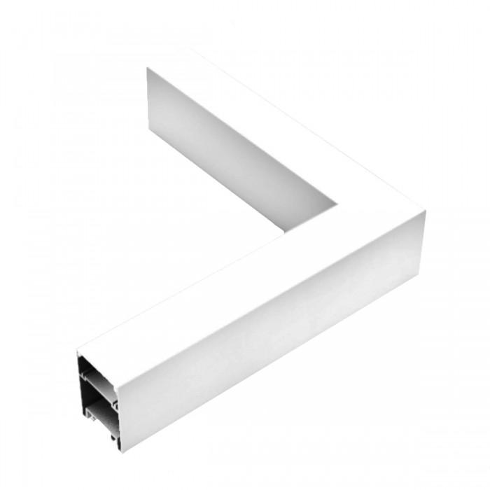 Corp LED liniar suspendat 90grade, interconectabil, 8W, 5000K, alb