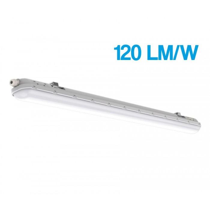Corp Led 18W=36W, 6500K, lumina rece, cu protectie IP65, 600Mm, 120LM/W