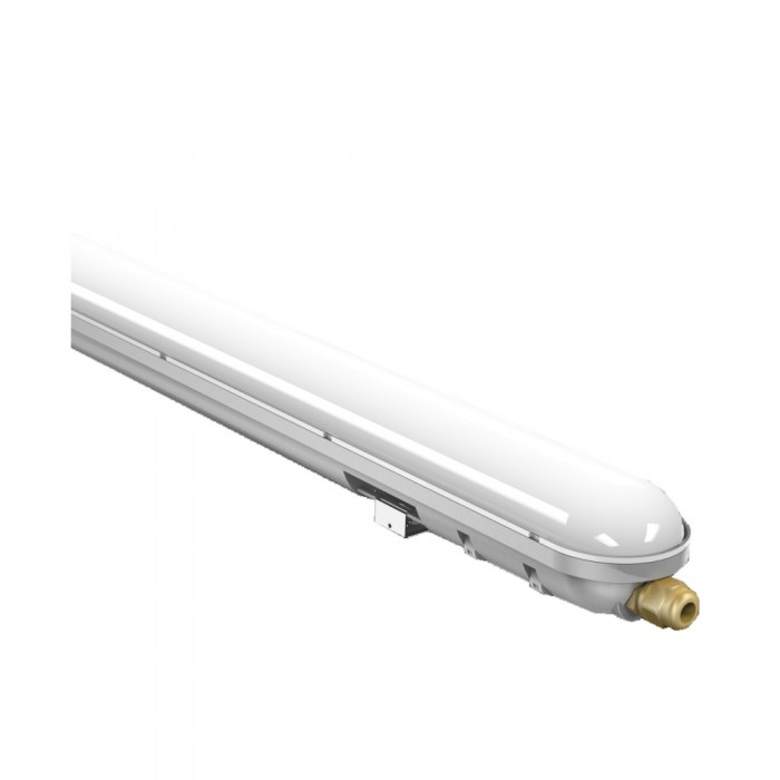 Corp LED 48W=96W, 6500K, IP65, lumina rece, 1500mm