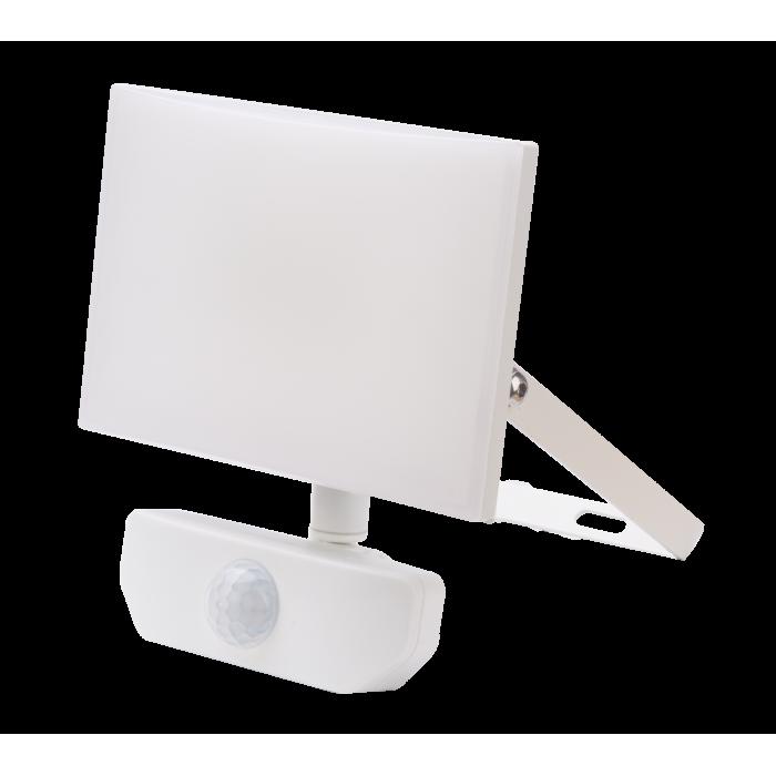 Proiector SMD Deco cu senzor de miscare, 20W=100W, 6000k, lumina rece