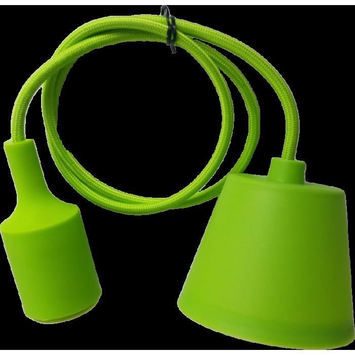 Lampa Suspendata Viola Verde E27