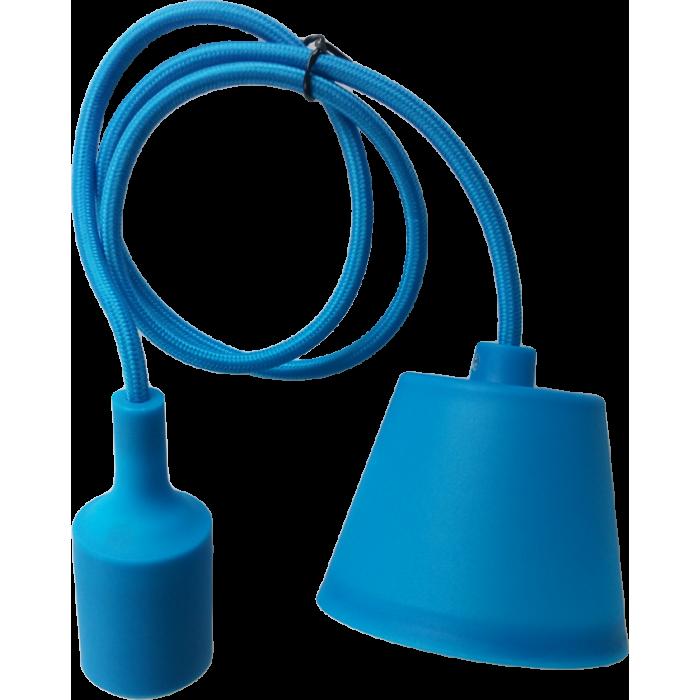 Lampa Suspendata Viola Albastra E27