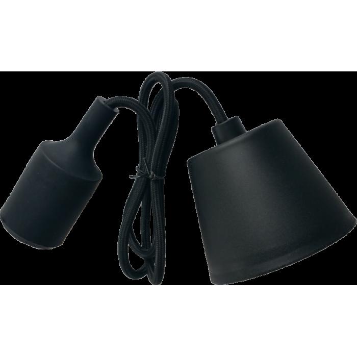 Lampa Suspendata Viola Neagra E27