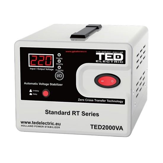 Stabilizator Retea MAXIM 2000VA SVC cu servomotor TED2000SVC