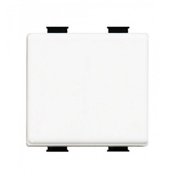 Buton cu revenire, alb  bticino AM5005/2  - 2 modul