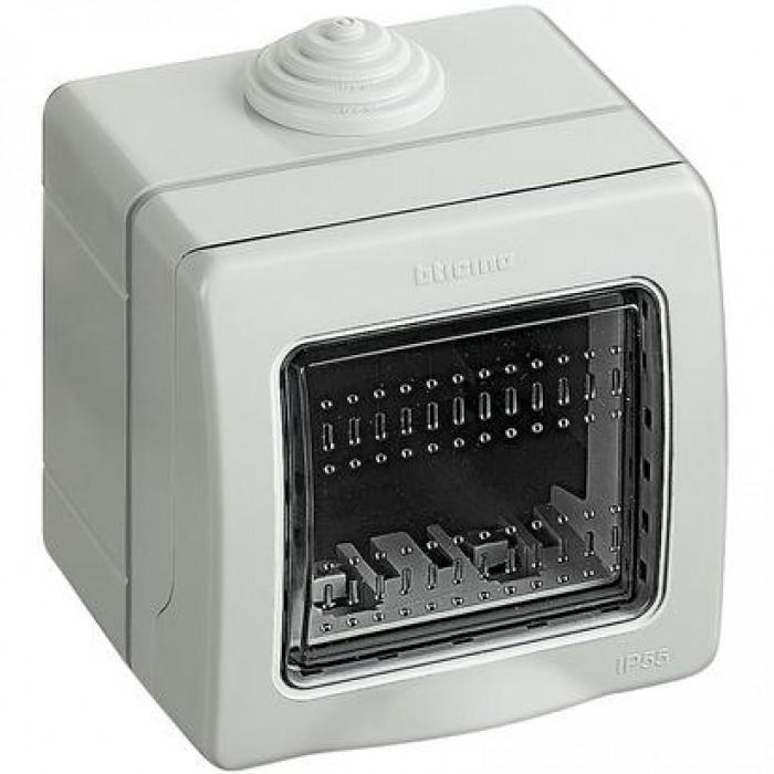 Doza 2 module bticino 25502 - montaj aplicat