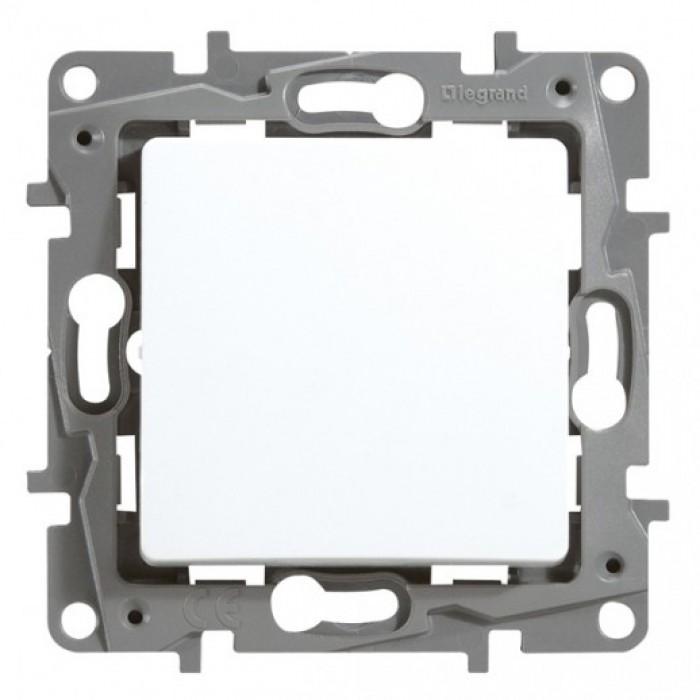 Intrerupator simplu cap cruce, 10A Legrand Niloe 664504 - 1 modul