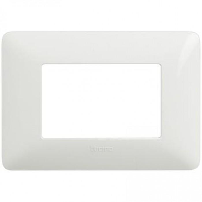 Rama ornamentala alb bticino AM4803BBN - 3 module