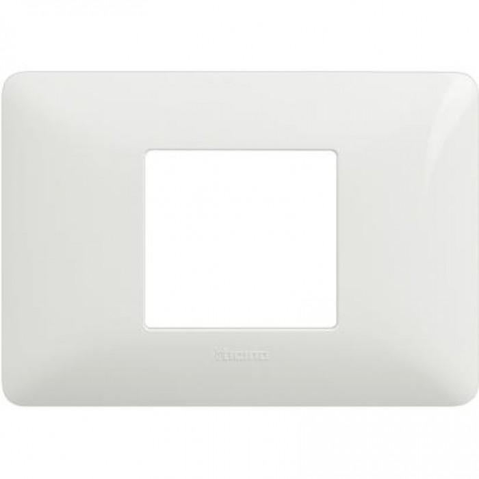 Rama ornamentala alb bticino AM4819BBN - 2 module