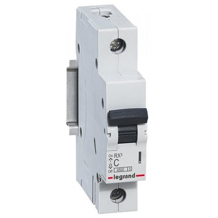 Siguranta automata 1P/C/16A/4.5KA, 605004 Legrand - 1 modul
