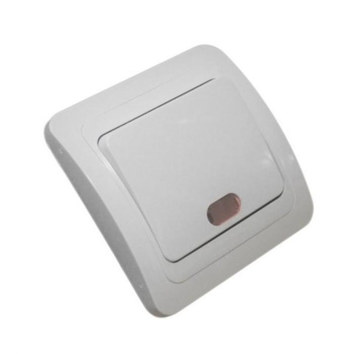 Intrerupator cu LED Spin - montaj incastrat