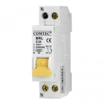 Siguranta automata faza+nul 6A - Comtec MF0001-16832