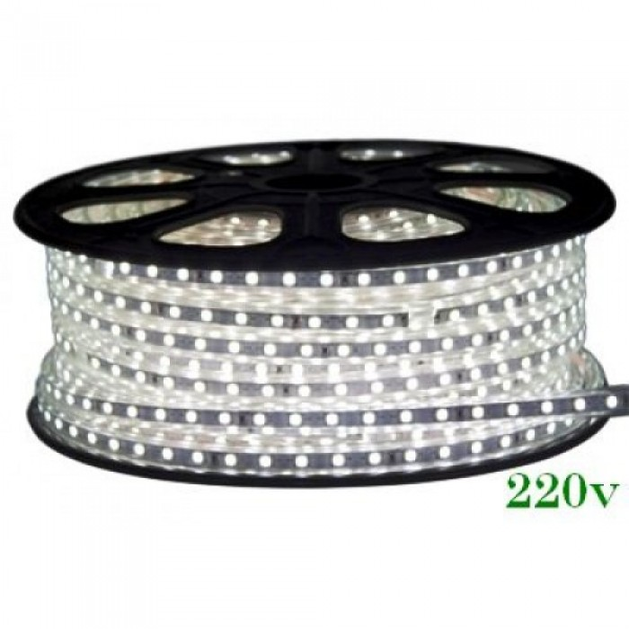 Banda Led 220V 6400K 14.4W/M Ip65 60Led/M 5050