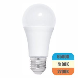 Bec LED cu lumina adaptabila, model glob A60, 12W=100W, 1080Lm