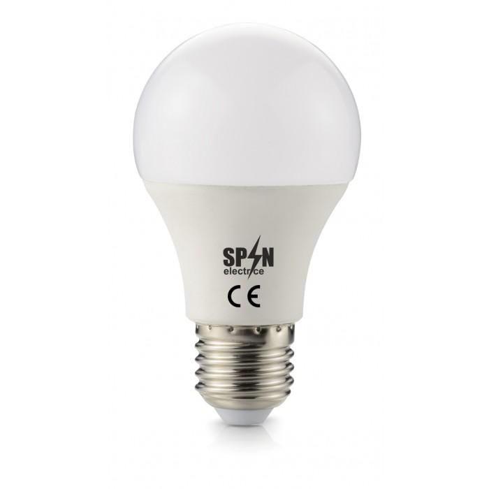 Bec Led E27, model glob A60, 12W=100W, 2700K, lumina calda, 960Lm