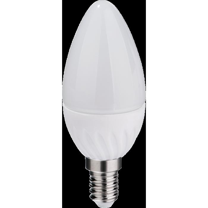 Bec Bl Led Lumanare E14, model C35, 3W=25W, 2700K, lumina calda