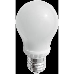 Bec Led Spin E27, model glob A50, 5W=45W, 2700K, lumina calda, 360